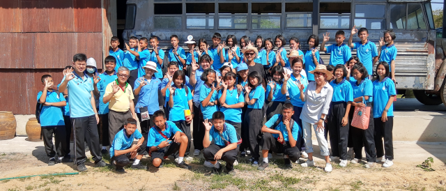 กิจกรรมรักษ์โลก บ้านทุ่งลุงโก้กับโรงเรียนวัดทศทิศ